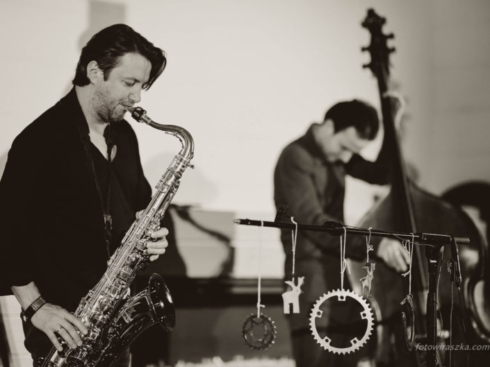 Grzech Piotrowski / saxophonist and composer