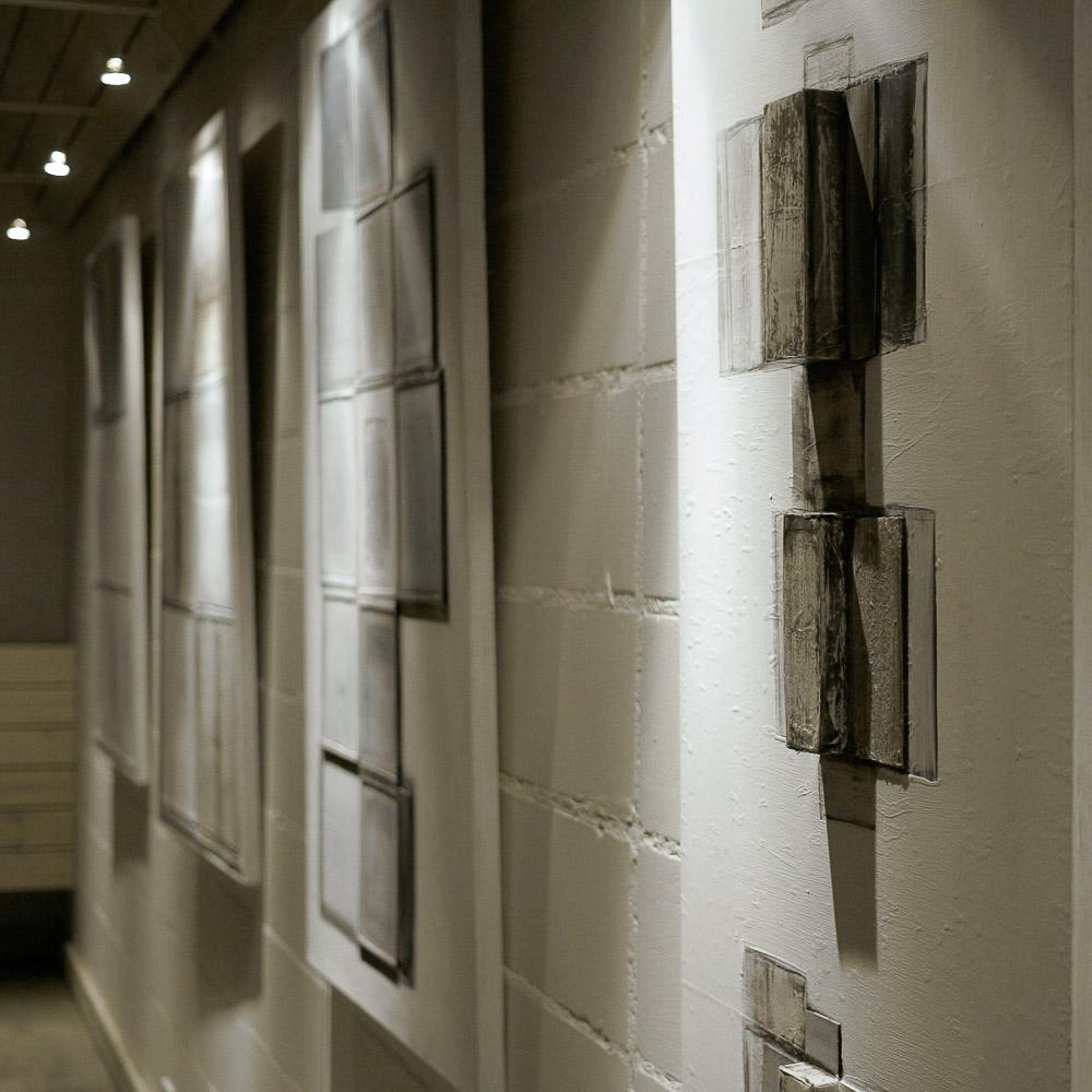 sciana wystawa
