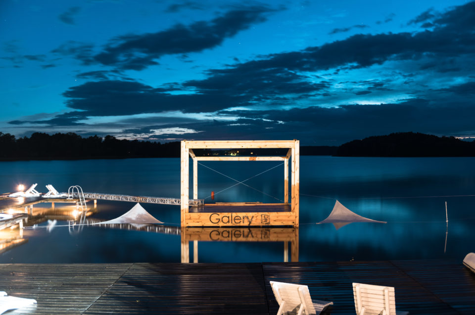 Scena na Wodzie - Koncert w scenerii Jeziora